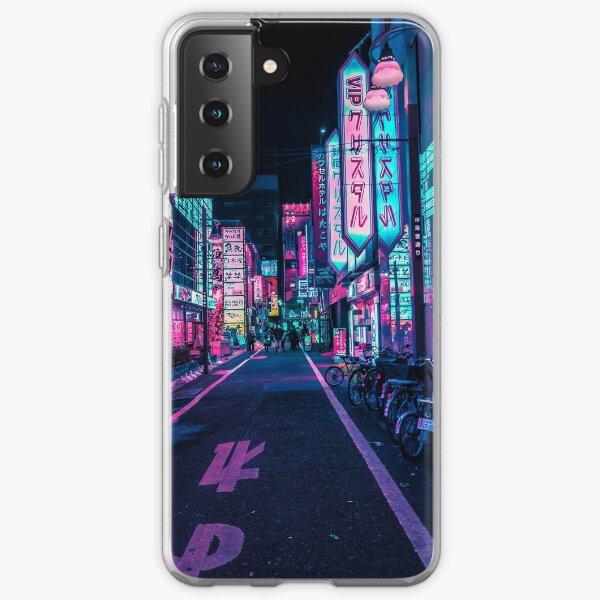 Tokio - Ein Neonwunderland Samsung Galaxy Flexible Hülle