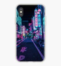 Vinilo o funda para iPhone Tokio - A Neon Wonderland