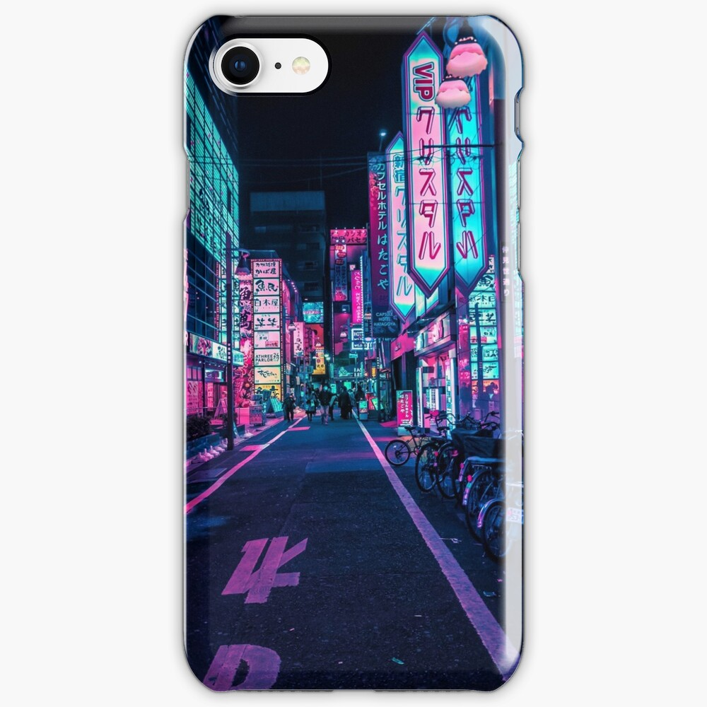 Tokyo - A Neon Wonderland  iPhone Case & Cover