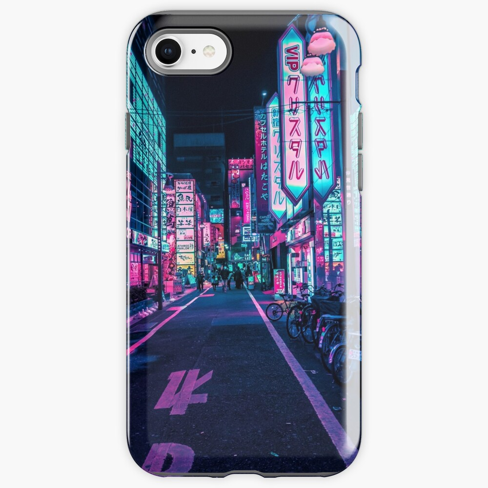 Tokyo - A Neon Wonderland  iPhone Case & Cover