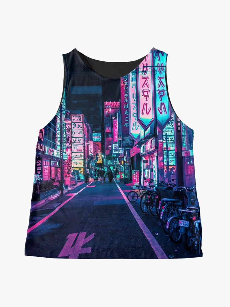 Alternate view of Tokyo - A Neon Wonderland Sleeveless Top