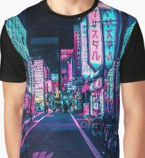 Camiseta gráfica Tokio - A Neon Wonderland
