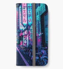 Tokio - Ein Neon-Wunderland iPhone Flip-Case/Hülle/Klebefolie