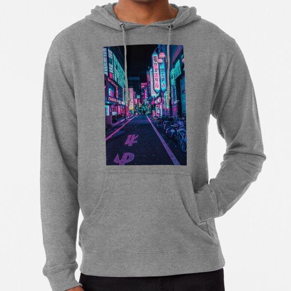 Tokyo - A Neon Wonderland  Lightweight Hoodie