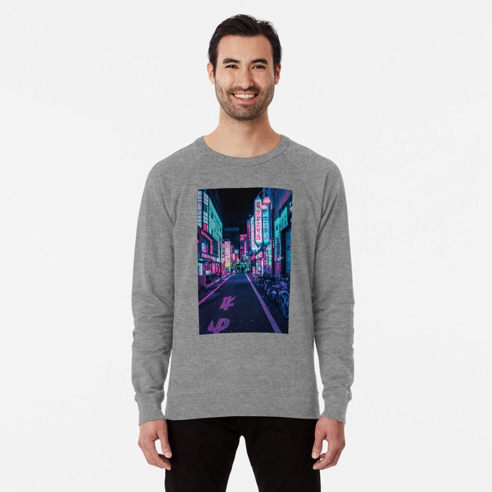 Tokio - Ein Neon-Wunderland Leichtes Sweatshirt