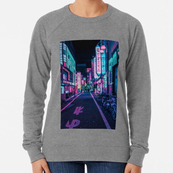 Tokyo - A Neon Wonderland  Lightweight Sweatshirt