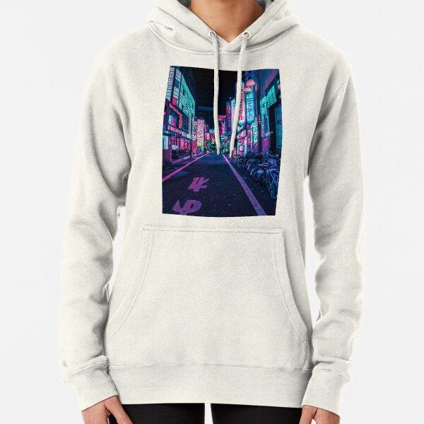 Tokyo - A Neon Wonderland  Pullover Hoodie