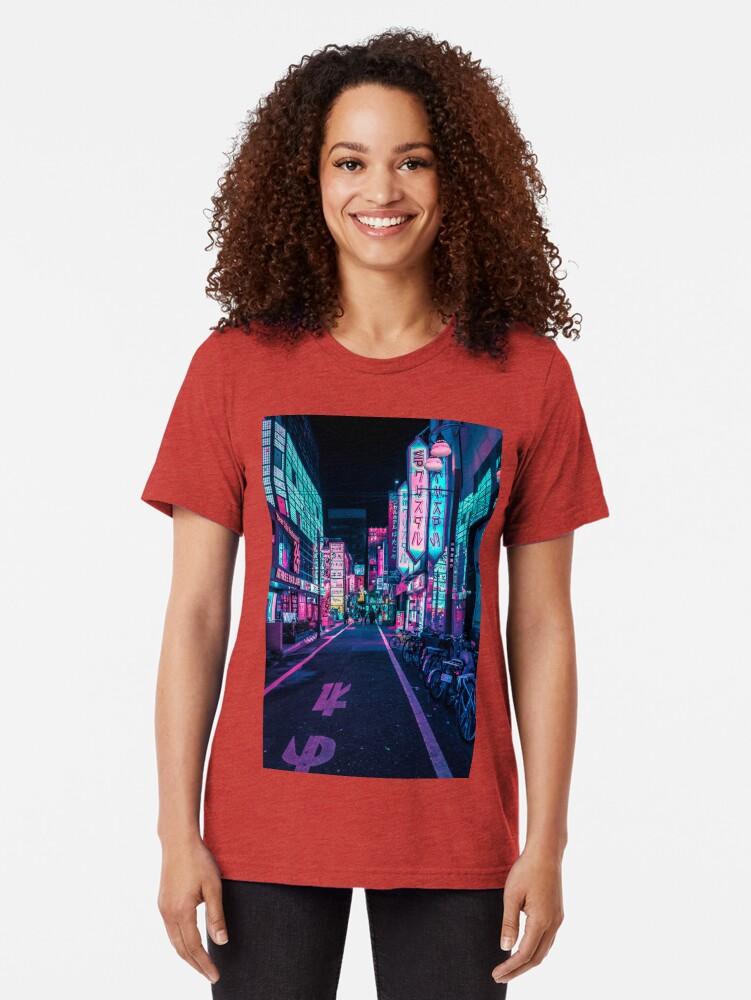 Alternative Ansicht von Tokio - Ein Neon-Wunderland Vintage T-Shirt