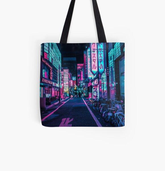 Tokyo - A Neon Wonderland Tote bag doublé
