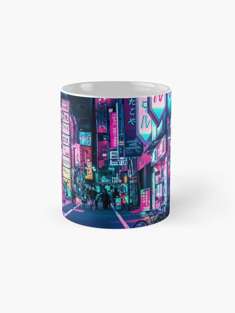 Alternative Ansicht von Tokio - Ein Neon-Wunderland Tasse (Standard)