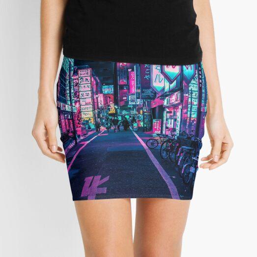 Tokyo - A Neon Wonderland  Mini Skirt