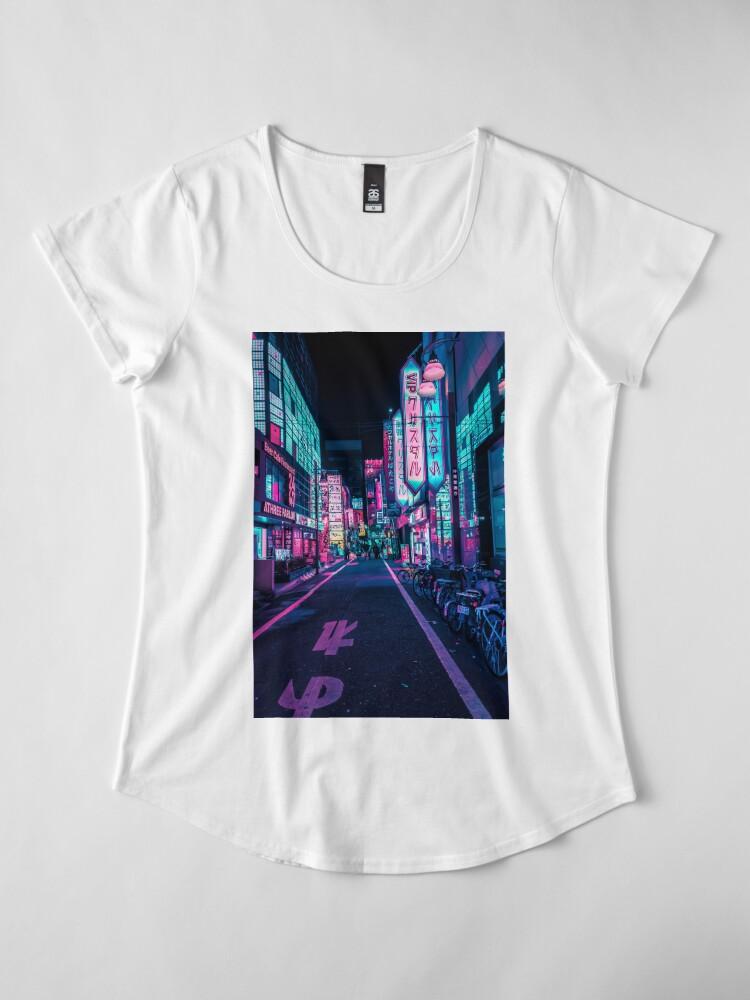 Alternative Ansicht von Tokio - Ein Neon-Wunderland Frauen Premium T-Shirt