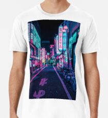 Camiseta premium para hombre Tokio - A Neon Wonderland