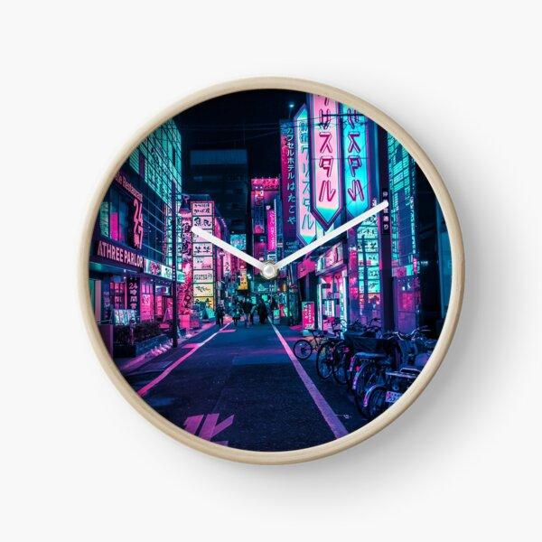 Tokyo - A Neon Wonderland  Clock