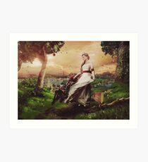 The Good Queen / v1 Art Print