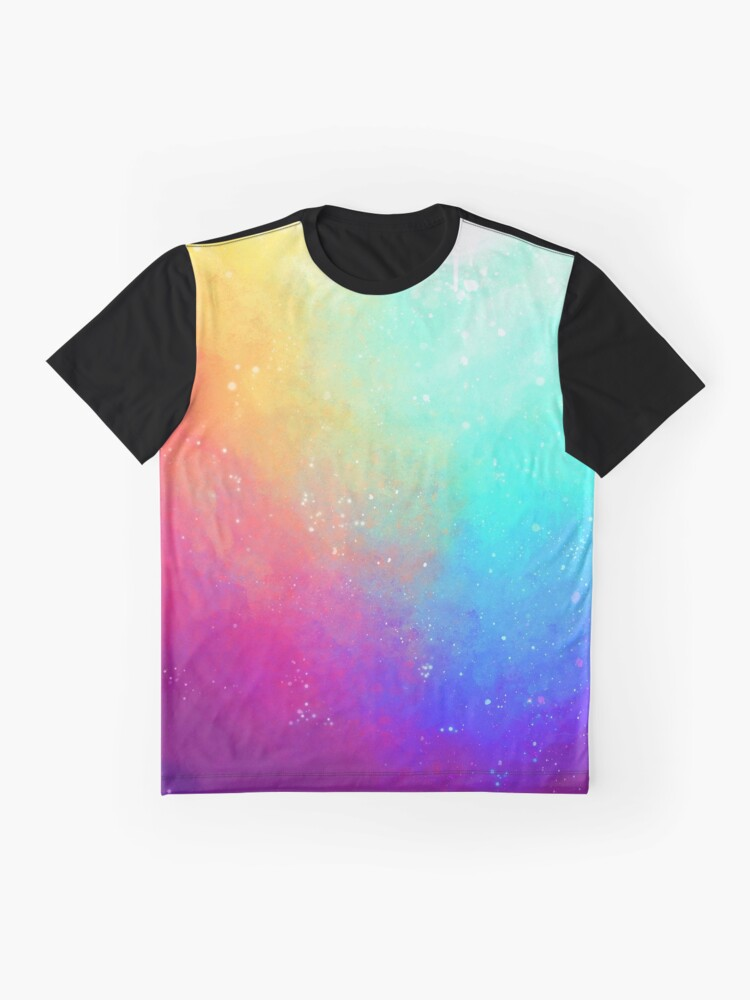 Alternate view of Galaxy Sky Graphic T-Shirt