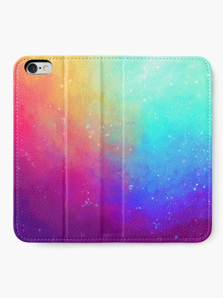 Alternate view of Galaxy Sky iPhone Wallet