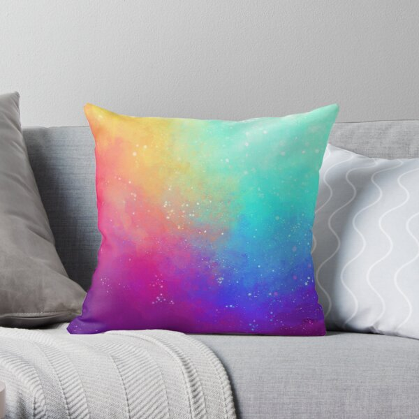 Galaxy Sky Throw Pillow
