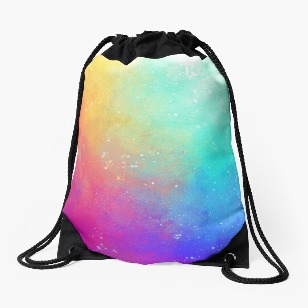 Galaxy Sky Drawstring Bag