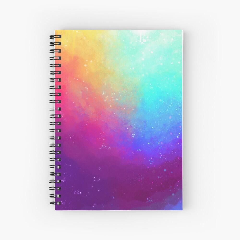 Galaxy Sky Spiral Notebook