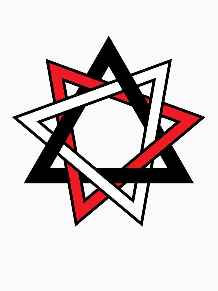 Original Nine Pointed Star Bahai Star Symbol Classic T Shirt By