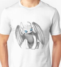 White night fury - how to train your dragon 3 Unisex T-Shirt