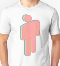 Rainbow Billie Eilish logo Unisex T-Shirt