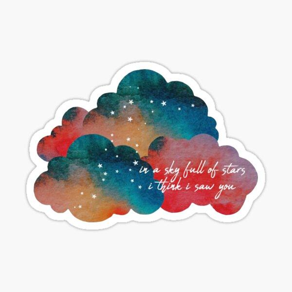 un ciel plein d'étoiles Sticker
