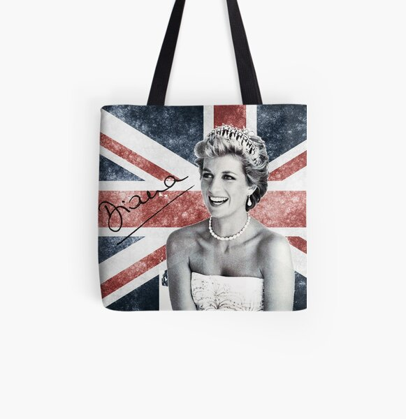 Lady Diana All Over Print Tote Bag