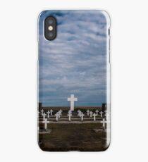 Argentine cemetery, Falkland islands. iPhone Case