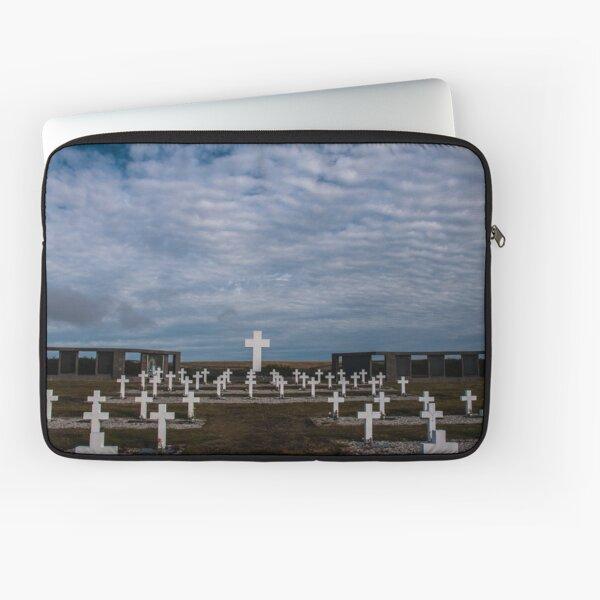 Argentine cemetery, Falkland islands. Laptop Sleeve