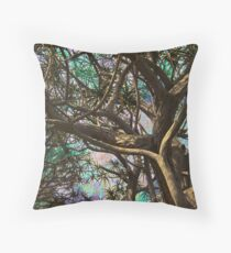 Joyous Sky Through Complex Branches #1 Throw Pillow