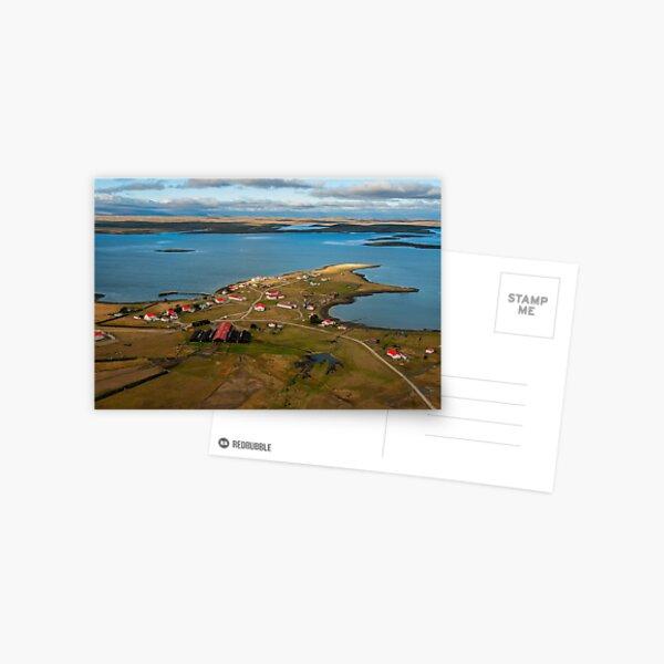 Goose Green, Falkland Islands. Postcard
