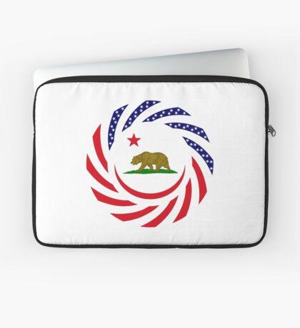 Californian Murican Patriot Flag Series Laptop Sleeve