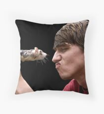 Ferret Love Throw Pillow
