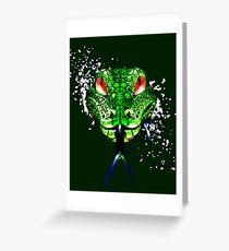 Morelia viridis Greeting Card
