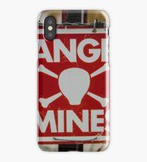 Mines iPhone Case