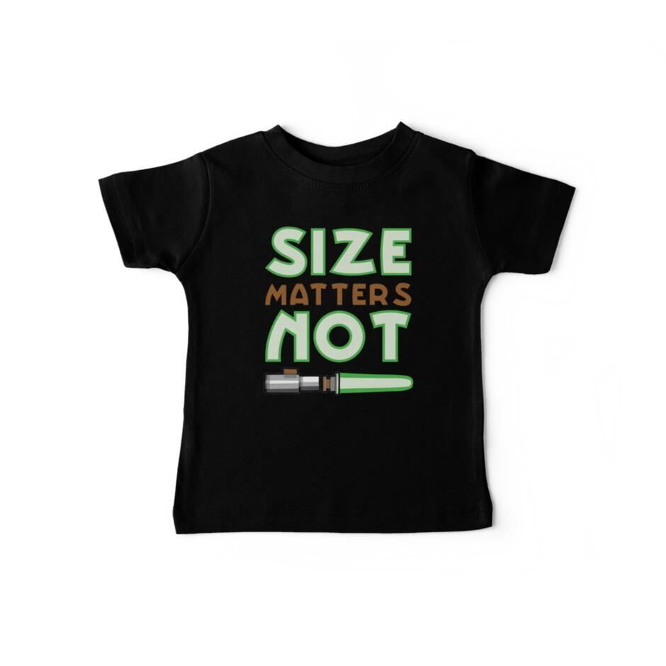 Größe ist nicht wichtig von Indigo72