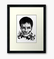 Living Dead Dude Framed Print