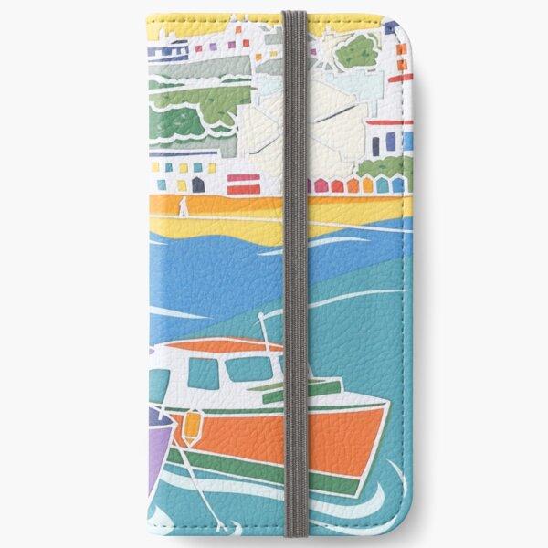 Broadstairs Beach Papercut  iPhone Wallet