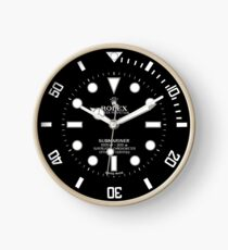 Rolex Submariner Face 114060 Black Dial  Clock