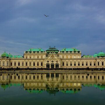 Belvedere palace by ropedope