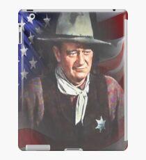 Stolzer Amerikaner iPad-Hülle & Klebefolie