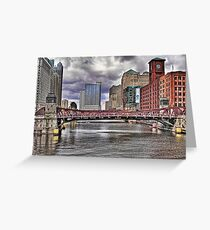 WINDY CITY CLASSIC Greeting Card
