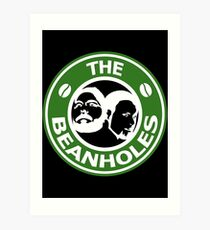 The Beanholes Logo Art Print