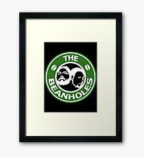 The Beanholes Logo Framed Print