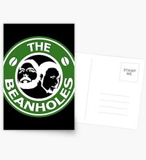 The Beanholes Logo Postcards