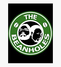 The Beanholes Logo Photographic Print