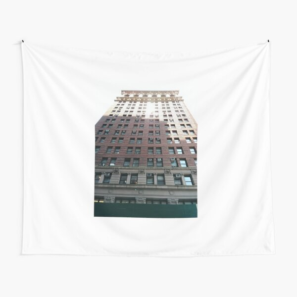 New York, Manhattan, #NewYork, #Manhattan, Tower Block, #TowerBlock, High-Rise Building, #HighRiseBuilding Tapestry