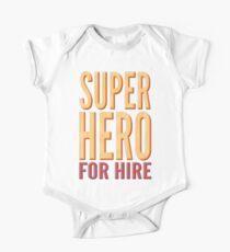 Superhero For Hire Kids Clothes